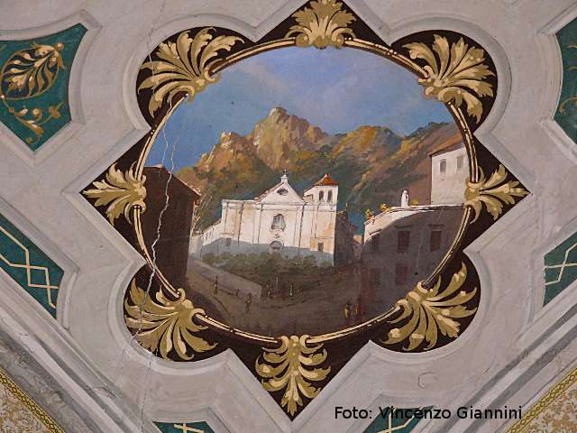 S.sebastiano in affresco